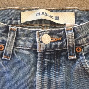 Classic GAP mom jeans size 6